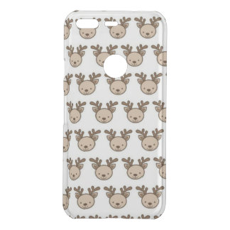 Reindeer Pattern Google Pixel Clearly™ Case