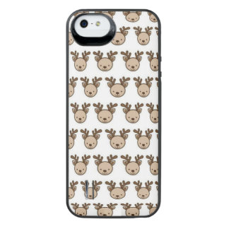 Reindeer Pattern iPhone SE/5/5s Battery Case
