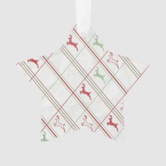 Reindeer Pattern Ornament