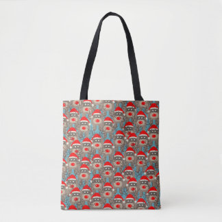 Reindeer Pattern Tote Bag