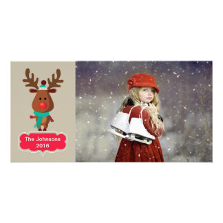 Reindeer Picture Card