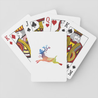 Reindeer Playing Cards