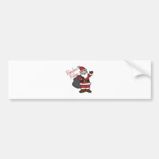 Reindeer Rider Bumper Sticker
