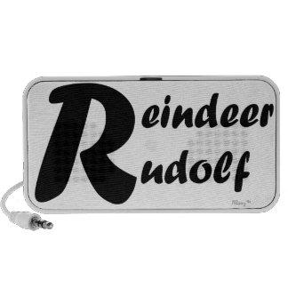 Reindeer Rudolf Mini Speakers