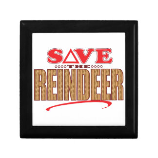 Reindeer Save Gift Box