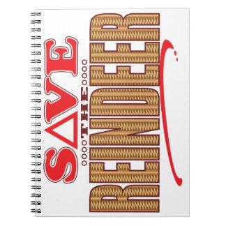 Reindeer Save Notebook