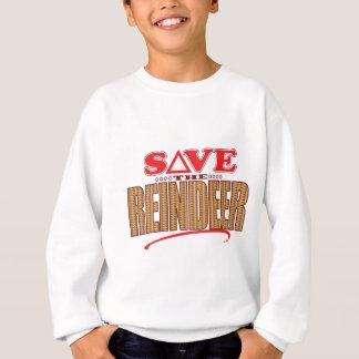 Reindeer Save Sweatshirt