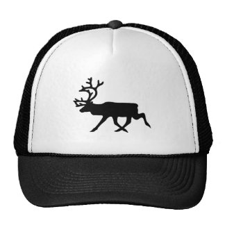 Reindeer Silhouette Hats
