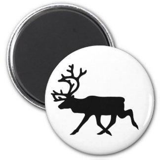 Reindeer Silhouette Magnet