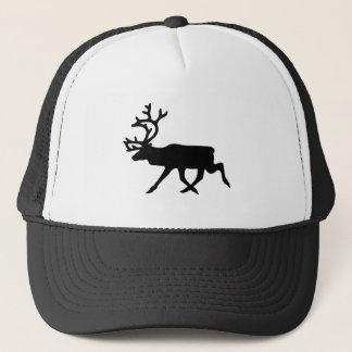 Reindeer Silhouette Trucker Hat