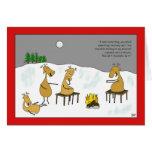 Reindeer Smores Christmas Card
