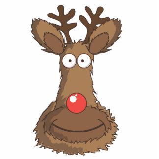 Reindeer Standing Photo Sculpture