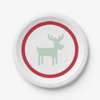Reindeer Sweater Weather Plate