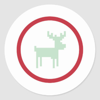 Reindeer Sweater Weather Sticker