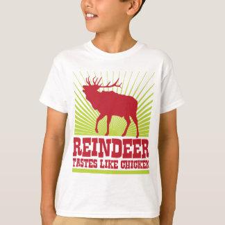 Reindeer Tastes Like Chicken Tee Shirt