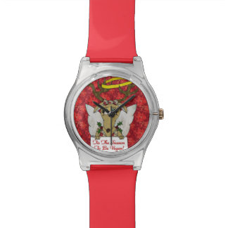 Reindeer Tis The Season to Be Vegan Designer Watch