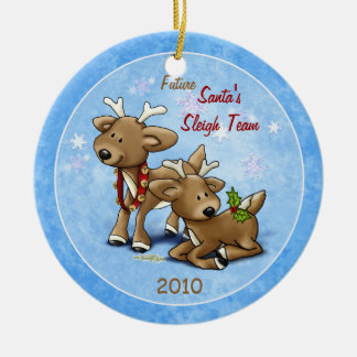 Reindeer - Twins Ornament
