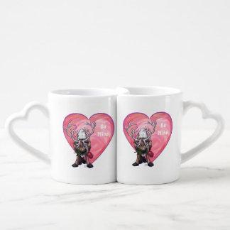 Reindeer Valentine's Day Lovers Mug