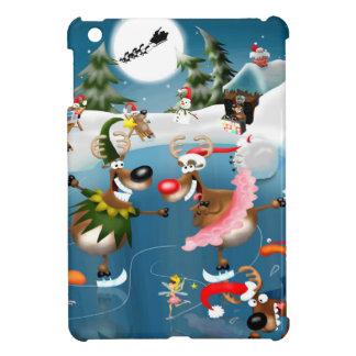 Reindeer winter wonderland iPad mini covers