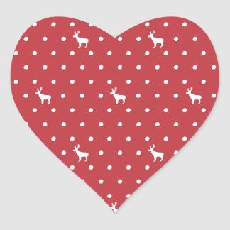 Reindeer with dots Stickers