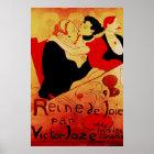 Reine De Joie 1892 Famous Poster