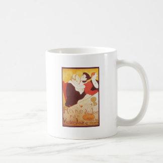Reine de Joie par Victor Joze Basic White Mug