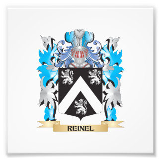 Reinel Coat of Arms - Family Crest Photograph