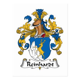 Reinhardt Family Crest Postcard