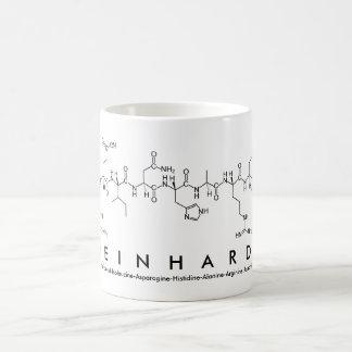 Reinhardt peptide name mug
