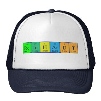 Reinhardt periodic table name hat