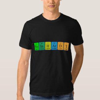 Reinhardt periodic table name shirt