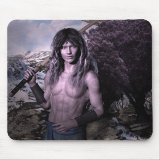 Reith Elven Warrior Fantasy Art Mouse Pad