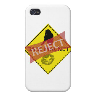 Reject Babe Magnet Road Sign iPhone Case iPhone 4/4S Covers