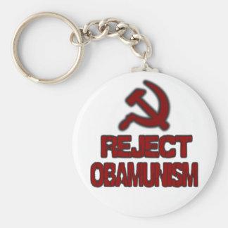 Reject Obamunism Keychains