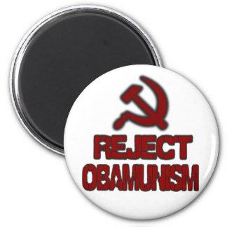 Reject Obamunism Fridge Magnets