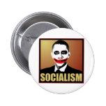 Reject Socialism 6 Cm Round Badge
