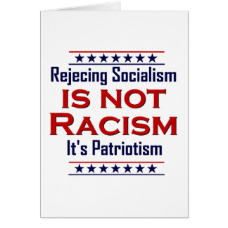 Rejecting Socialism, Card
