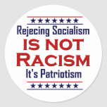 Rejecting Socialism, Round Stickers