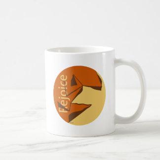 Rejoice Basic White Mug