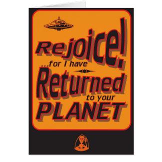 Rejoice! Card
