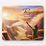 Rejoice!  Easter Gift Mousepad Mouse Pads