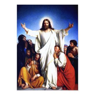 Rejoice. Fine Art Customizable Easter Card Invitation