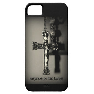 Rejoice in His love, religious iphone case