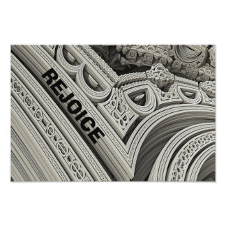 REJOICE In The Church Structure Poster