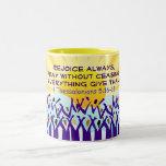 Rejoice mug