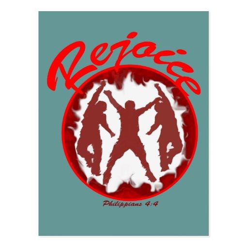 Rejoice - Philippians 4.4 Post Cards