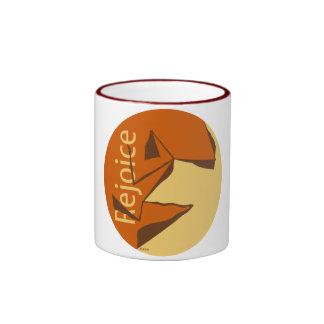Rejoice Ringer Coffee Mug