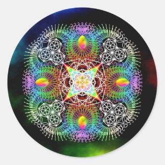 Rejoice Round Sticker