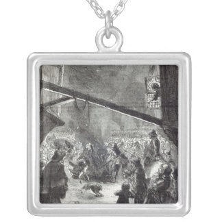 Rejoicings in London Silver Plated Necklace
