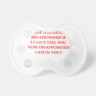 relationship baby pacifiers